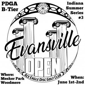 Evansville Open sponsored by Dynamic Discs graphic