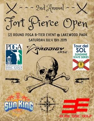 Sun King/Elite Disc Golf present 2nd Annual Ft. Pierce Open graphic