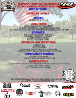 The 10th Annual Monkey Trap Open graphic