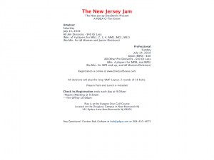 The New Jersey Jam (Pro) graphic