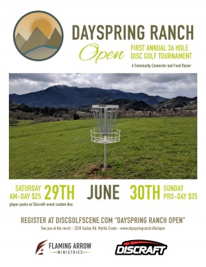 Dayspring Ranch Open Pro-day graphic