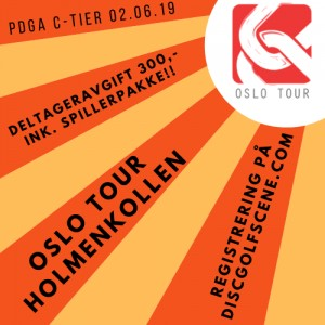 Oslo Tour Holmenkollen 2019 presented by Latitude 64 graphic