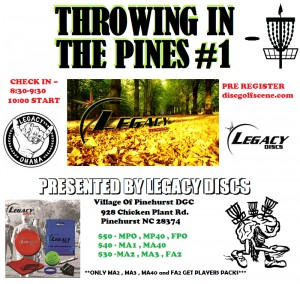 Throwing in the Pines #1 Presented By Legacy Discs graphic
