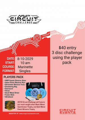 MVP Circuit Event at Marinette City Park graphic