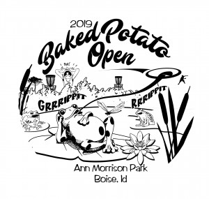 2019 Baked Potato Open Driven By Innova Discs and McU Sports graphic