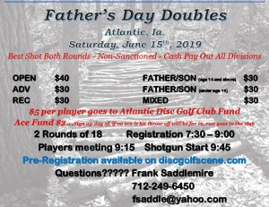 Father's Day Doubles graphic