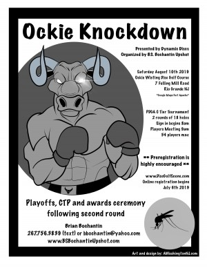 Ockie Knockdown presented by Dynamic Discs graphic