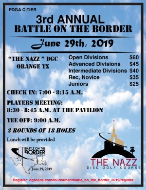 3rd Annual Battle on the Border Powered by Prodigy graphic
