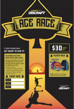Discraft Ace Race hosted by Chain-Out DGC graphic