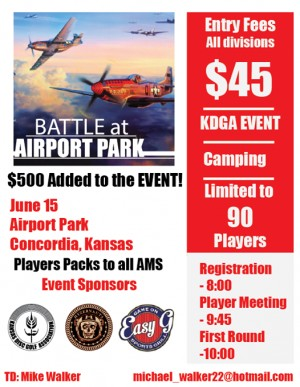 Battle at Airport Park graphic