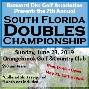 7th Annual South Florida Doubles Championship graphic