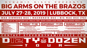 Dynamic Discs & the Lubbock Windriders Presents the 27th Annual Big Arms on the Brazos graphic
