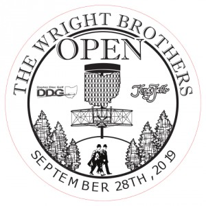 The Wright Brothers Open Sponsored by Discraft graphic
