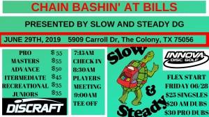 Chain Bashin' at Bills graphic