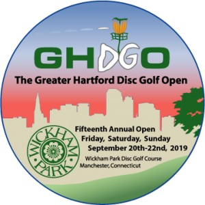 2019 Greater Hartford Disc Golf Open graphic