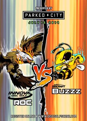 Parked City Presents: ROC vs BUZZZ challenge graphic