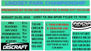 Lindsey Park Championship presented by Slow and Steady DG graphic