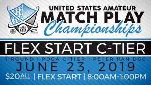 USAMPC Flex Start C-Tier at Peter Pan graphic