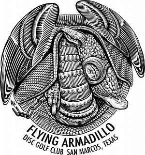 3rd Annual Flying Armadillo Open, Sponsored by Discraft graphic