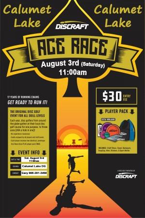 Ace Race at Calumet Lake! graphic
