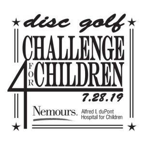 Disc Golf Challenge for Children - Nemour's Charity Tournament - Driven by INNOVA graphic