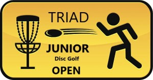 Triad Junior Disc Golf Open graphic