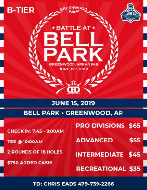 11th Annual Battle at Bell Park presented by Dynamic Discs graphic
