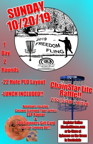 Freedom Fling presented by Spinners on the Green graphic