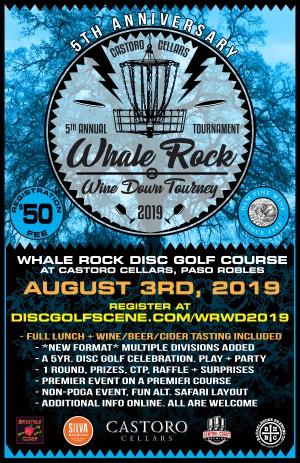 Whale Rock Wine Down Tourney- 5th Annual graphic