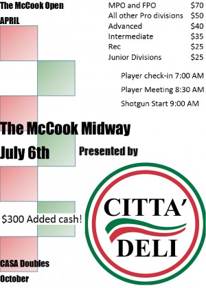 The McCook Midway presented by Citta' Deli graphic