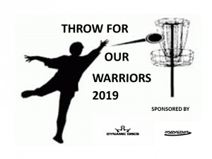 2nd Annual Throw for our Warriors sponsored by Dynamic Discs graphic