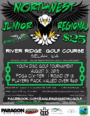 Eagles Wings JUNIOR Northwest Regional graphic