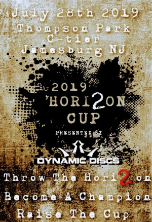 2019 HORIZON CUP Presented by DYNAMIC DISCS graphic