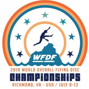 2019 World Flying Disc Federation Overall Championships Sponsored by Discraft- Disc Golf Event graphic