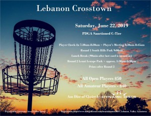 2019 Lebanon Crosstown graphic