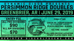 Dynamic Discs NWA Presents: Persimmon Ridge Doubles Championships graphic