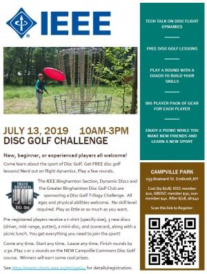 IEEE Disc Golf Trilogy Challenge graphic