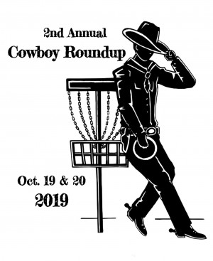 2nd Annual Cowboy Roundup Sponsored by Dynamic Discs graphic