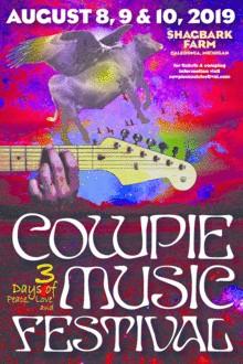 Cowpie Music Festival Disc Golf Tournament graphic