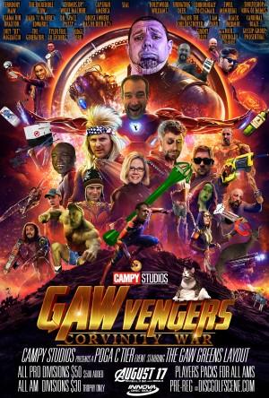 Gawvengers: Corvinity War - Driven by Innova graphic
