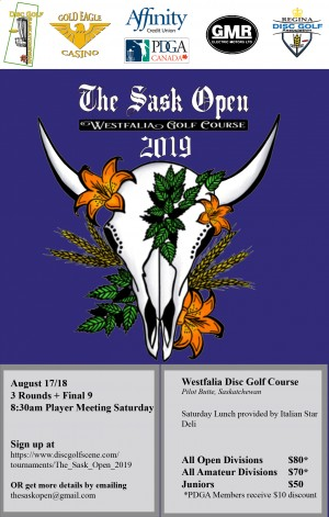 The Sask Open graphic