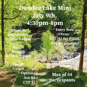 Dundee Lake Mini graphic