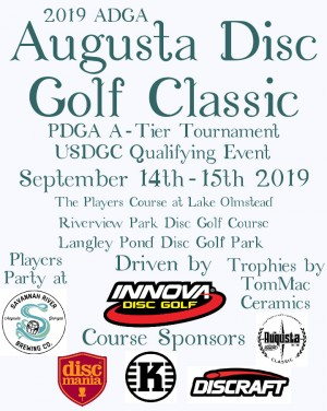 Augusta Disc Golf Classic Driven by Innova graphic