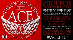 Throwing Aces for Ace graphic
