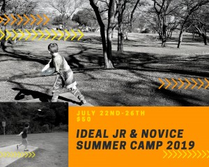Ideal Jr & Novice Summer Camp 2019 graphic