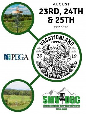 The Vacationland Open Presented by Infinite Discs graphic