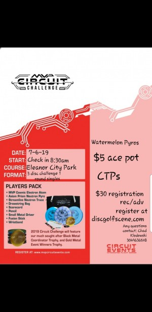 MVP Circuit Event @ Eleanor graphic