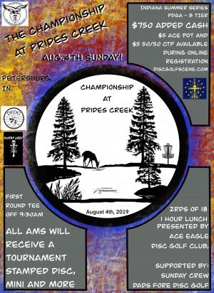 Championship at Prides Creek graphic