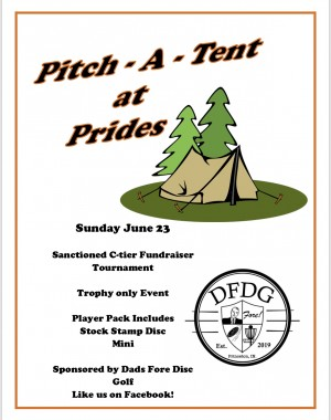 Pitch-A-Tent at Prides graphic