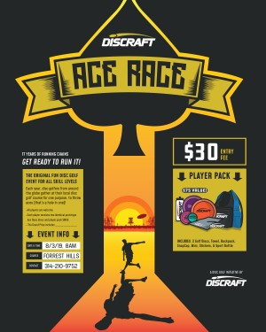 Ace Race at Forrest Hills graphic